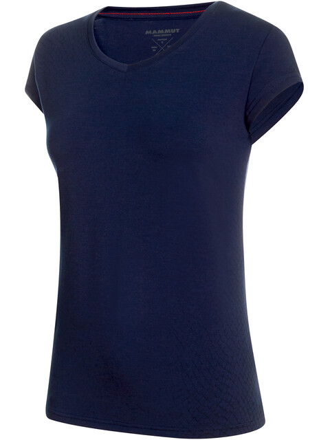 Mammut Trovat - Camiseta manga corta Mujer - azul